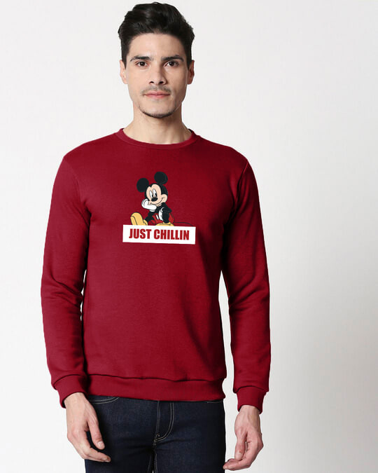 Shop Just Chillin Fleece Sweater-Front