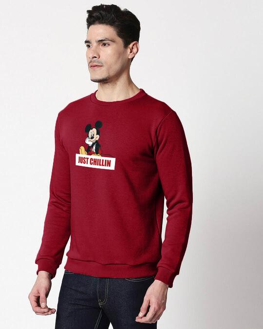 Shop Just Chillin Fleece Sweater-Back