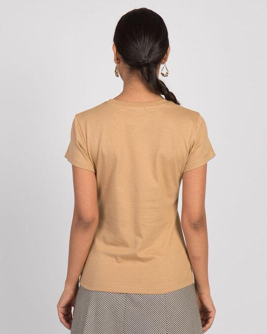 Shop Justneedcoffee Half Sleeve T-Shirt-Back