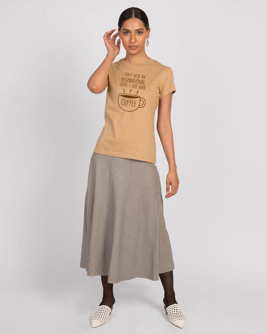 Shop Justneedcoffee Half Sleeve T-Shirt-Design