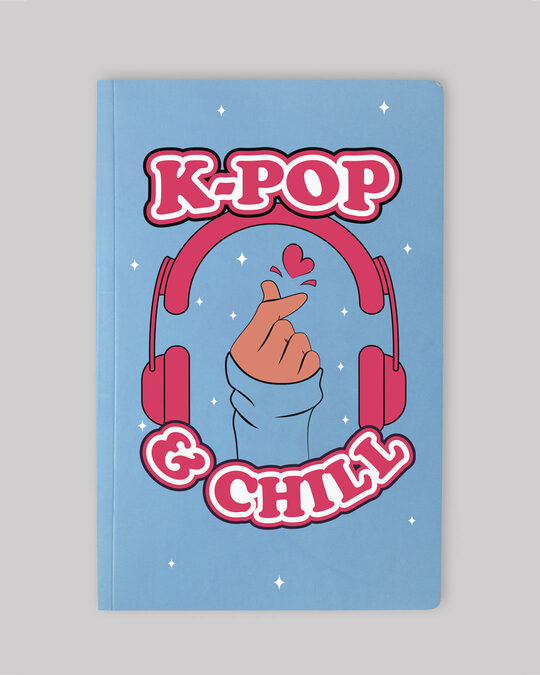 Shop K-pop Diary Notebook-Front