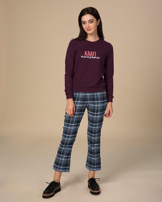 Shop Kaafi Awesome  Sweatshirt-Full