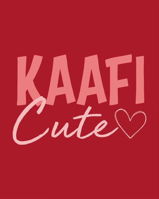 Shop Kaafi Cute Boyfriend T-Shirt