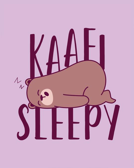 Shop Kaafi Sleepy Boyfriend T-Shirt