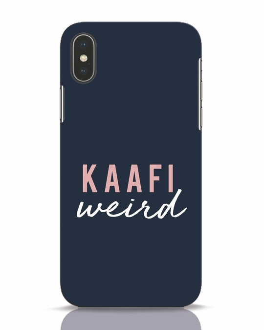 Shop Kaafi Weird iPhone X Mobile Cover-Front