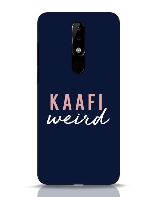 Shop Kaafi Weird Nokia 5.1 Plus Mobile Cover-Front