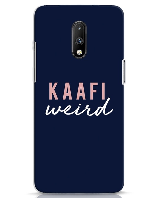 Shop Kaafi Weird OnePlus 7 Mobile Cover-Front