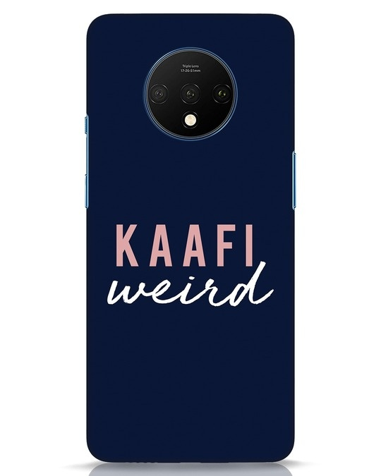 Shop Kaafi Weird OnePlus 7T Mobile Cover-Front