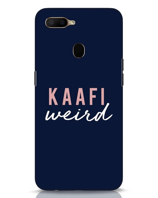 Shop Kaafi Weird Oppo A5s Mobile Cover-Front