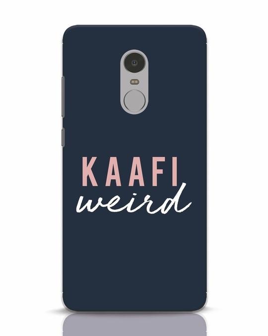 Shop Kaafi Weird Xiaomi Redmi Note 4 Mobile Cover-Front