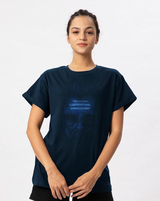 Shop Kaal Boyfriend T-Shirt-Front