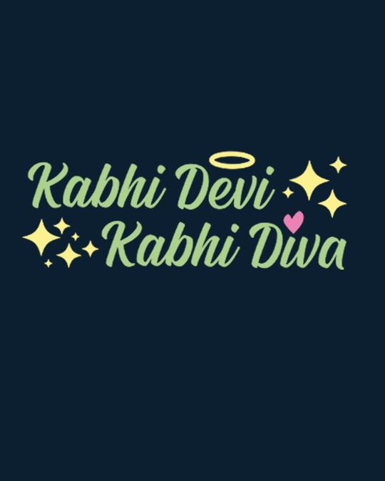 Shop Kabhi Devi Kabhi Diva Scoop Neck Full Sleeve T-Shirt-Full