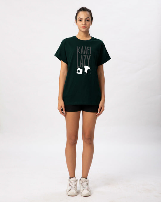 Shop Kafi Lazy Boyfriend T-Shirt