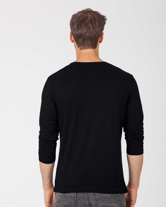 Shop Kafi Lazy Full Sleeve T-Shirt-Full