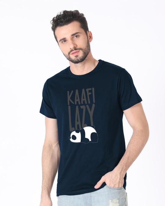 Shop Kafi Lazy Half Sleeve T-Shirt-Design