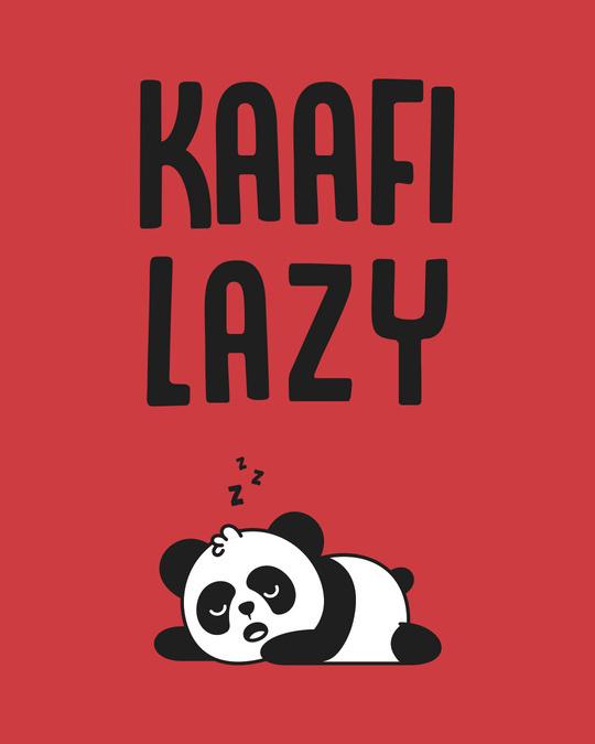 Shop Kafi Lazy Panda Side Printed Boxer