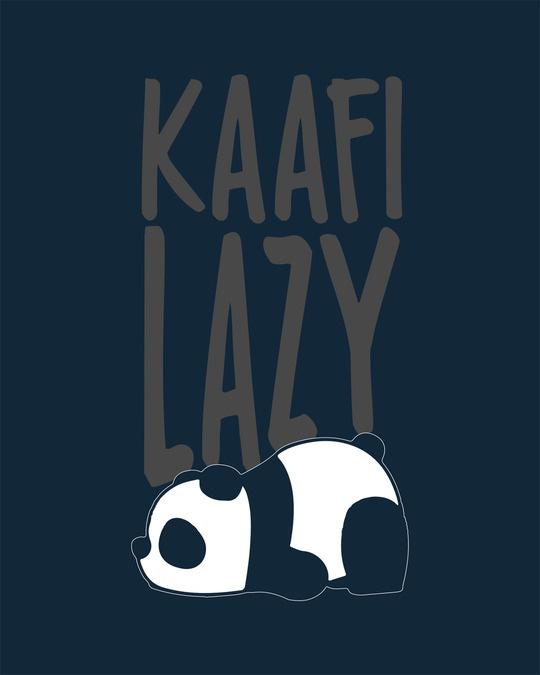 Shop Kafi Lazy Round Neck 3/4th Sleeve T-Shirt
