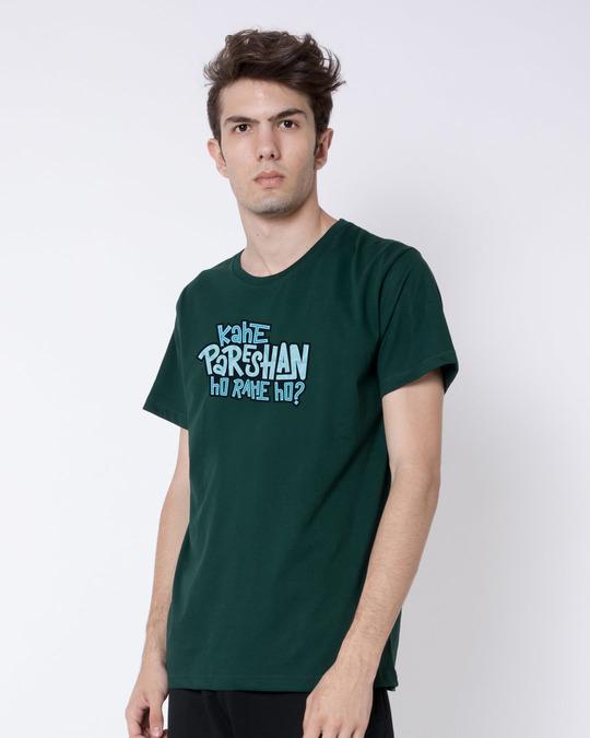 Shop Kahe Pareshan Half Sleeve T-Shirt-Full