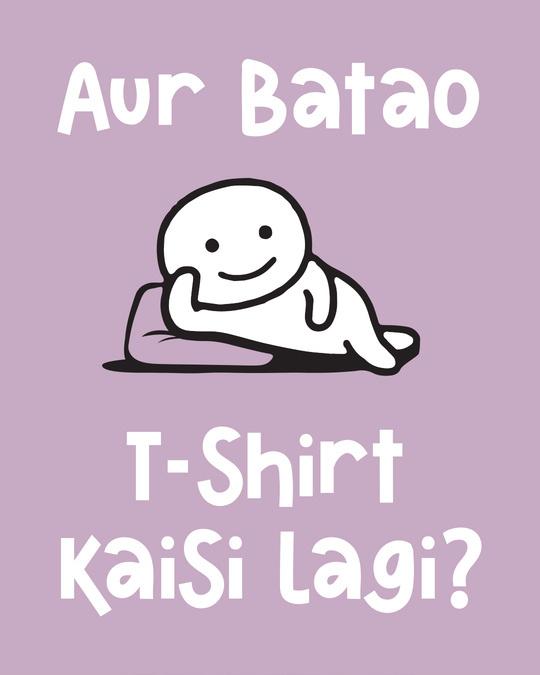 Shop Kaisi Lagi Full Sleeve T-Shirt-Full