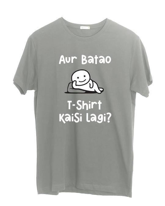 Shop Kaisi Lagi Half Sleeve T-Shirt-Front