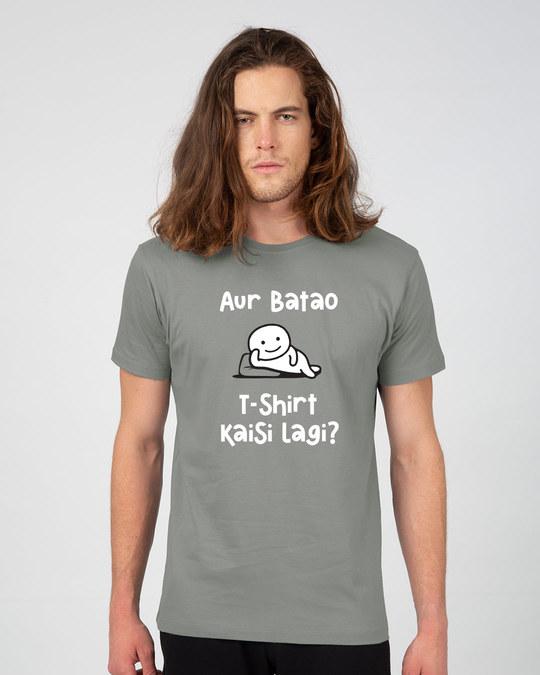 Shop Kaisi Lagi Half Sleeve T-Shirt-Back