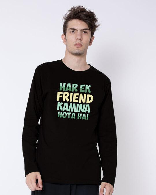 Shop Kamina Friend Full Sleeve T-Shirt-Front