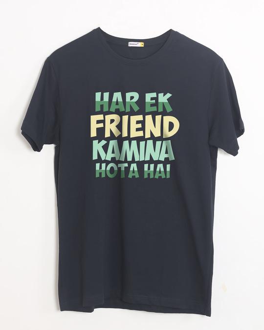 Shop Kamina Friend Half Sleeve T-Shirt-Front
