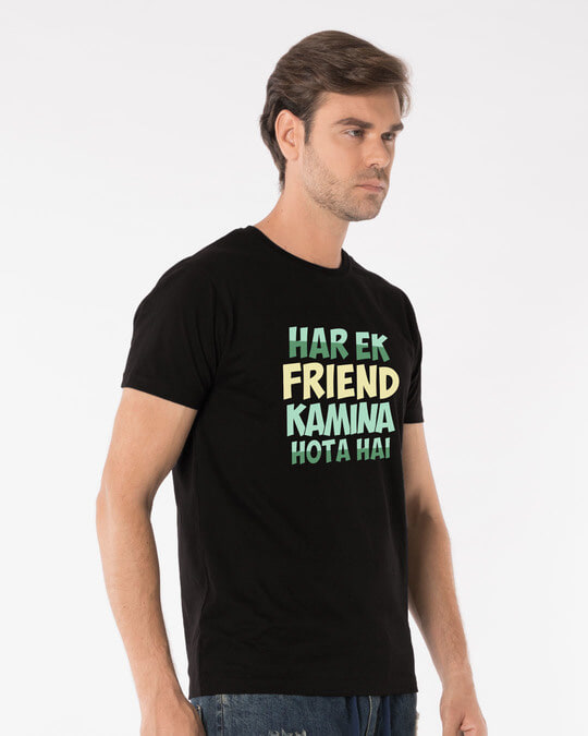 Shop Kamina Friend Half Sleeve T-Shirt-Full