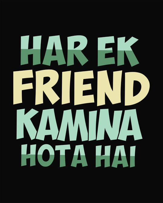 Shop Kamina Friend Half Sleeve T-Shirt