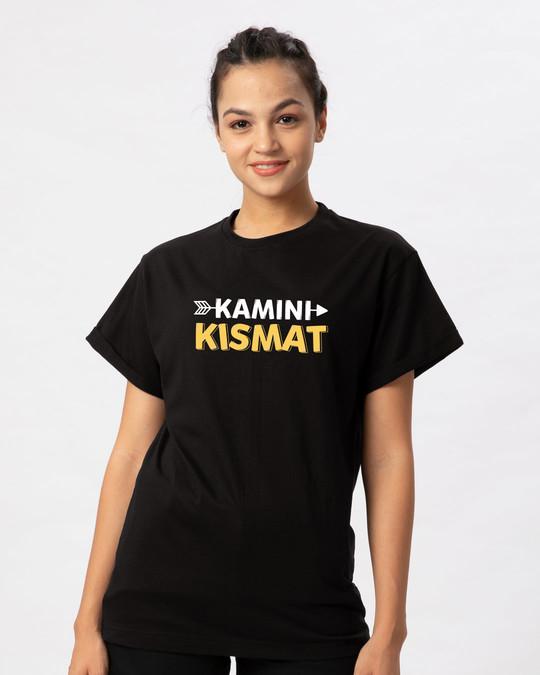 Shop Kamini Kismat Boyfriend T-Shirt-Front