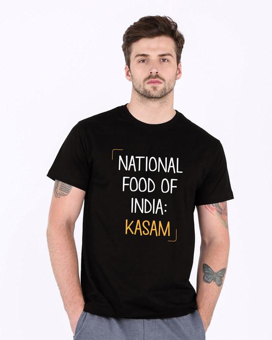 Shop Kasam Half Sleeve T-Shirt-Back