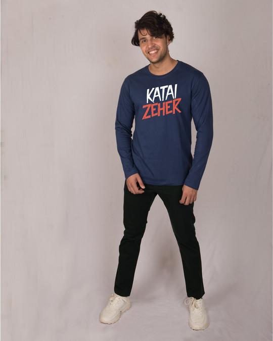 Shop Katai Zeher Full Sleeve T-Shirt-Full