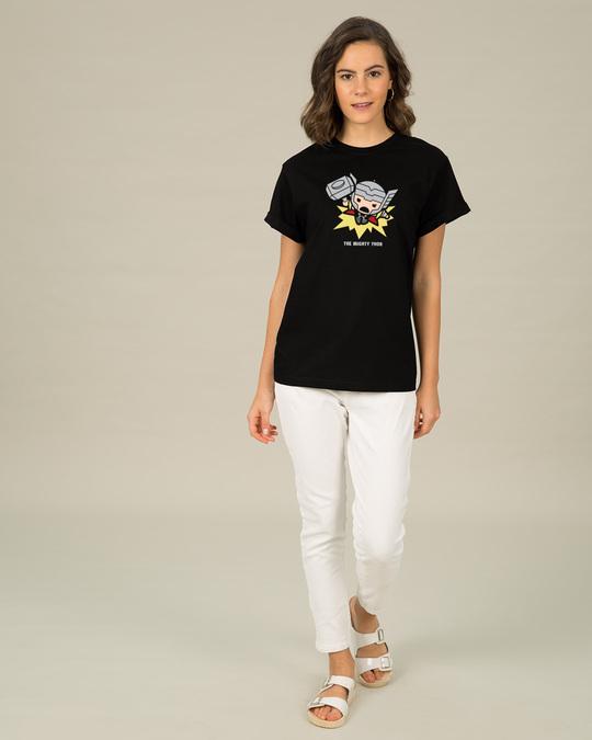 Shop Kawaii Thor Boyfriend T-Shirt (AVL)