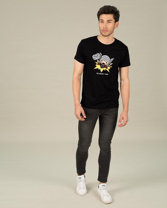 Shop Kawaii Thor Half Sleeve T-Shirt (AVL)