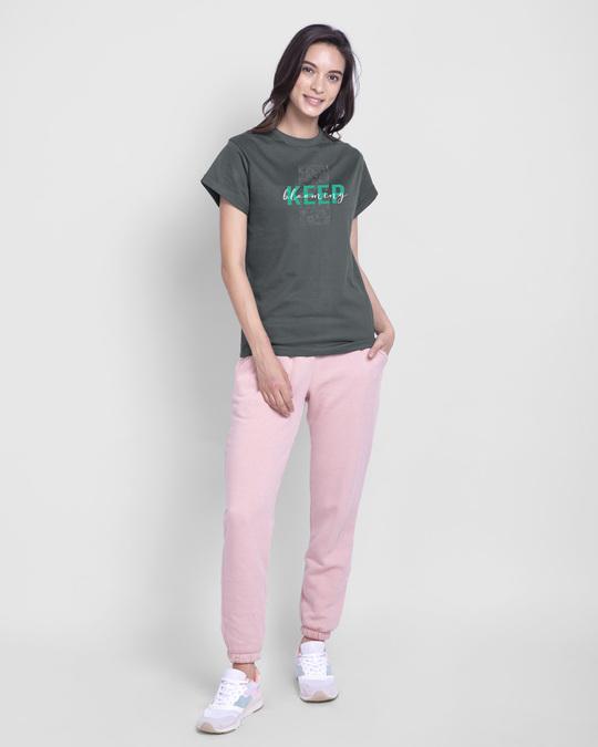 Shop Keep Blooming Boyfriend T-Shirt-Full