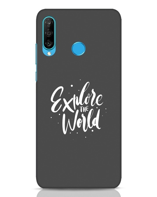 Shop Keep Exploring Huawei P30 Lite Mobile Cover-Front