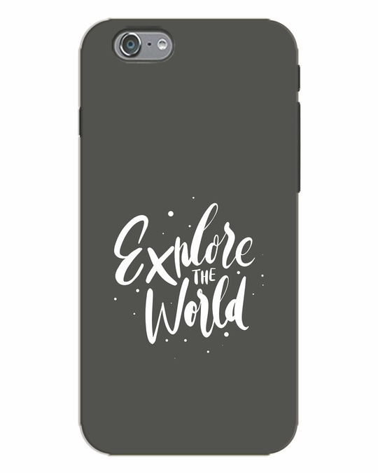Shop Keep Exploring iPhone 6s Mobile Cover-Front