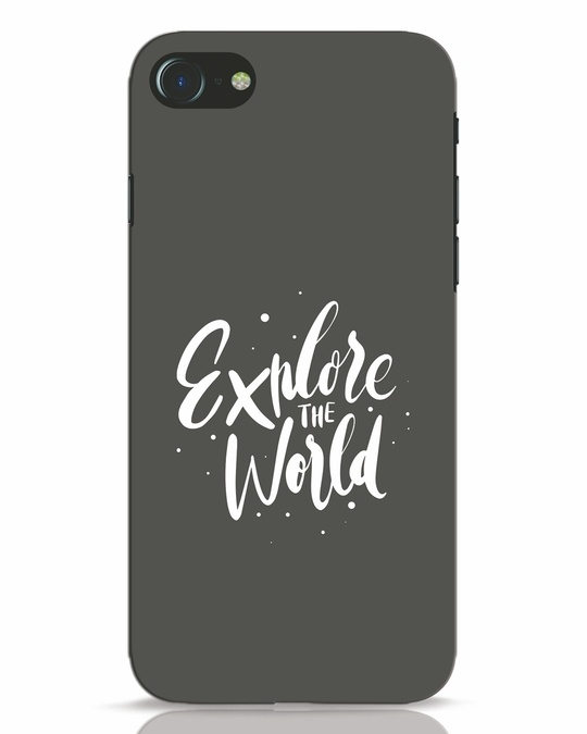 Shop Keep Exploring iPhone 8 Mobile Cover-Front