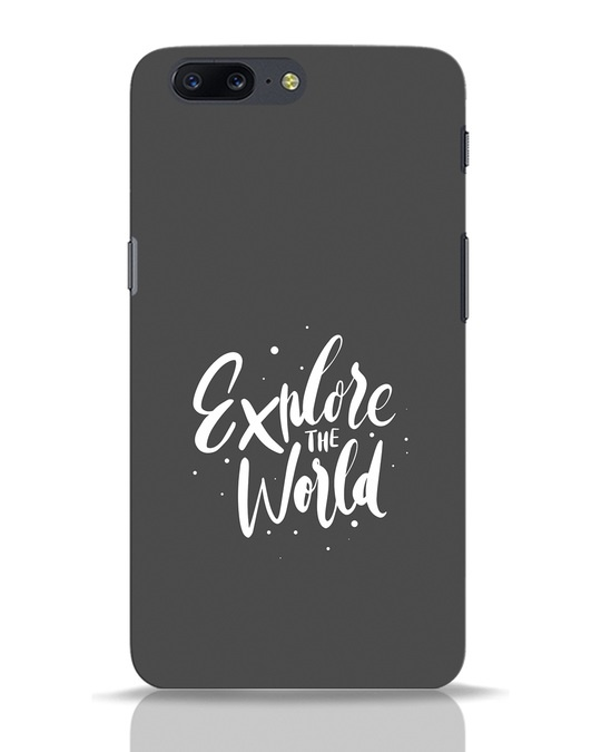Shop Keep Exploring OnePlus 5 Mobile Cover-Front