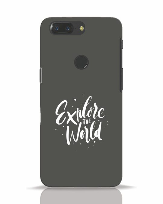 Shop Keep Exploring OnePlus 5T Mobile Cover-Front