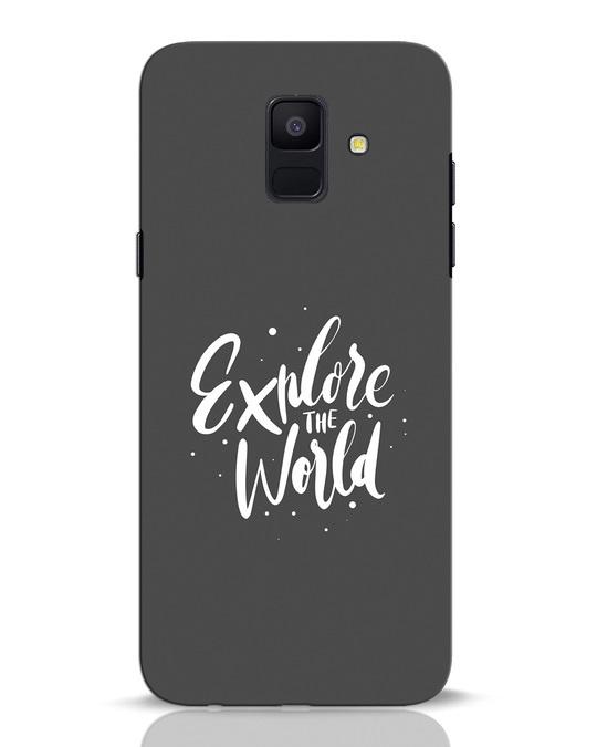 Shop Keep Exploring Samsung Galaxy A6 2018 Mobile Cover-Front