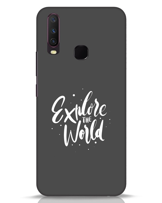 Shop Keep Exploring Vivo Y17 Mobile Cover-Front