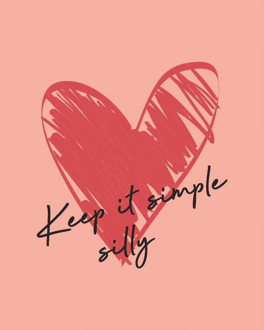 Shop Keep It Simple Silly Boyfriend T-Shirt
