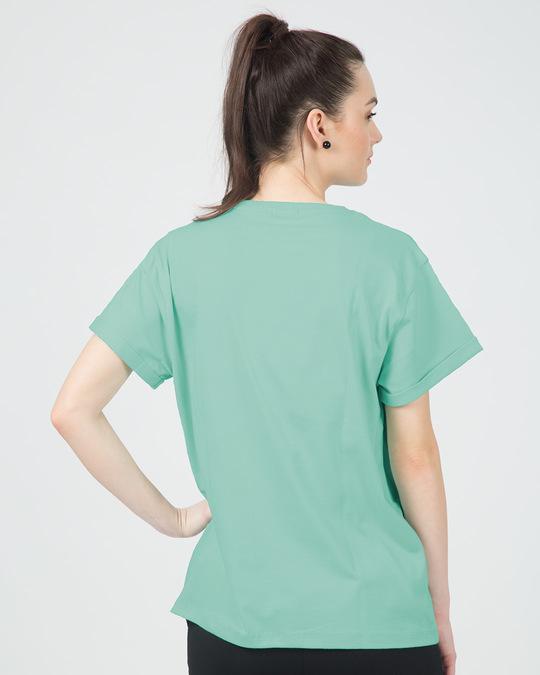 Shop Keep It Simple Silly Boyfriend T-Shirt-Back