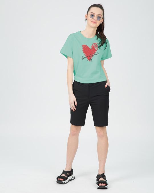 Shop Keep It Simple Silly Boyfriend T-Shirt-Full
