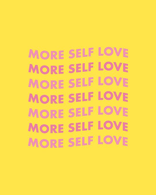 Shop Keep Loving Yourself Sweatshirt Hoodie Old Gold-Full