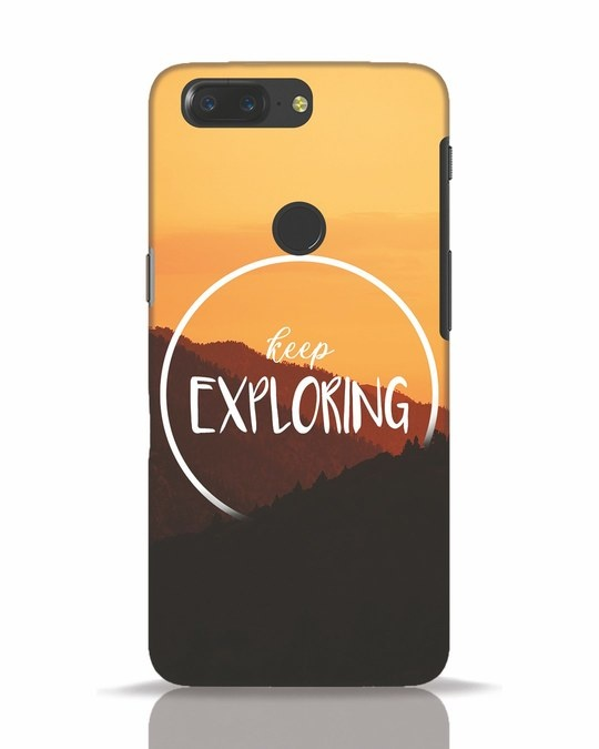 Shop Keep On Exploring OnePlus 5T Mobile Cover-Front