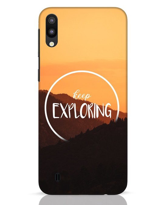 Shop Keep On Exploring Samsung Galaxy M10 Mobile Cover-Front