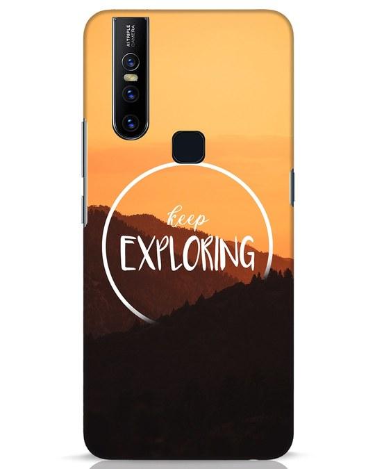Shop Keep On Exploring Vivo V15 Mobile Cover-Front