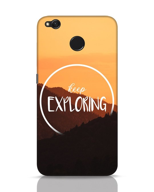 Shop Keep On Exploring Xiaomi Redmi 4 Mobile Cover-Front